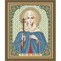 """Икона для вышивки бисером """"Святая преподобная мученица Анастасия Римская"""" (Схема или набор)"""