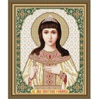 """Икона для вышивки бисером """"Святая мученица Анастасия Романова"""" (Схема или набор)"""