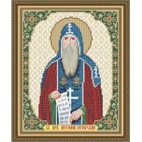 """Икона для вышивки бисером """"Святой Преподобный Антоний"""" (Схема или набор)"""