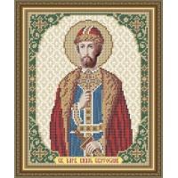 """Икона для вышивки бисером """"Святой благоверный князь Святослав"""" (Схема или набор)"""