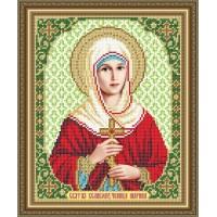 """Икона для вышивки бисером """"Святая великомученица Марина"""" (Схема или набор)"""