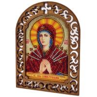 """Набор для вышивки бисером """"Святая Богородица Семистрельная"""""""