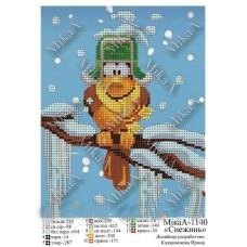"""Схема для вышивки бисером """"Снежинь"""" (Схема или набор)"""