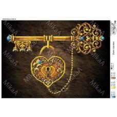 """Схема для вышивки бисером """"Ключ счастья"""" (Схема или набор)"""