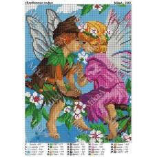"""Схема для вышивки бисером """"Влюбленные эльфы"""" (Схема или набор)"""