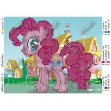 """Схема для вышивки бисером """"Pinkie Pie"""" (Схема или набор)"""