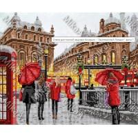 """Схема для вышивки бисером """"Заснеженный Лондон"""" (Схема или набор)"""
