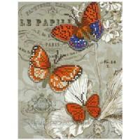 """Схема для вышивки бисером """"Бабочка оранжевая"""" (Схема или набор)"""