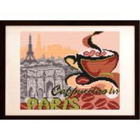 """Схема под вышивку бисером """".... на капучино в Париж"""" (схема или набор)"""