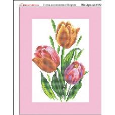 """Схема для вышивки бисером """"Тюльпаны"""" (Схема или набор)"""