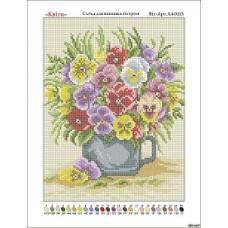 """Схема для вышивки бисером """"Цветы"""" (Схема или набор)"""