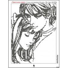 """Схема для вышивки бисером """"Влюбленная пара"""" (Схема или набор)"""