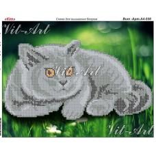 """Схема для вышивки бисером формата А4 """"Кот"""" (Схема или набор)"""