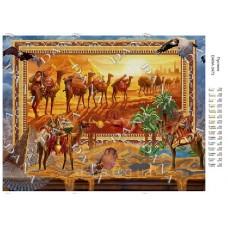 """Схема для вышивки бисером """"Пустыня"""" (Схема или набор)"""