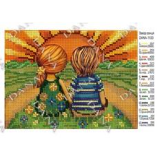 """Схема для вышивки бисером """"Закат солнца"""" (Схема или набор)"""