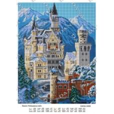 """Схема для вышивки бисером """"Замок Нойшванштайн"""" (Схема или набор)"""