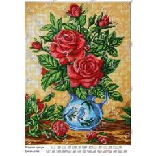 """Схема для вышивки бисером """"Бордовые красавицы"""" (Схема или набор)"""