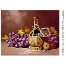 """Схема для вышивания бисером """"Виноградное вино"""" (Схема или набор)"""