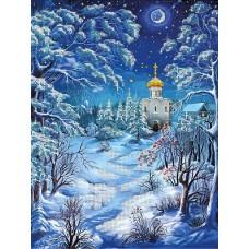 Зимняя ночь (схема или набор)