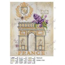 """Схема для вышивки бисером """"Франция"""" (Схема или набор)"""