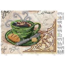 """Схема для вышивки бисером """"Горячий кофе"""" (Схема или набор)"""