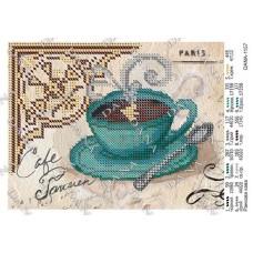 """Схема для вышивки бисером """"Утренний кофе"""" (Схема или набор)"""