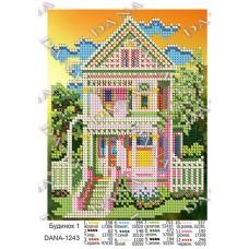 """Схема для вышивки бисером """"Дом 1"""" (Схема или набор)"""