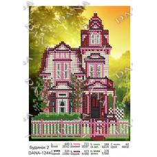 """Схема для вышивки бисером """"Дом 2"""" (Схема или набор)"""