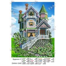 """Схема для вышивки бисером """"Дом 3"""" (Схема или набор)"""
