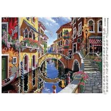 """Схема для вышивки бисером """"Венецианская улочка"""" (Схема или набор)"""