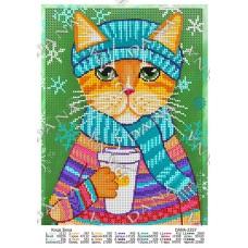 """Схема для вышивки бисером """"Кошка Зинка"""" (Схема или набор)"""