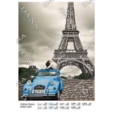 """Схема для вышивки бисером """"Любовь-Париж"""" (Схема или набор)"""