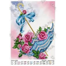 """Схемы для вышивки бисером """"Цветочный зонтик"""" (Схема или набор)"""