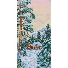"Схема для вышивки бисером ""Зима"". Времена года"