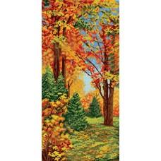 """Схема для вышивки бисером """"Осень"""". Времена года"""