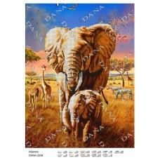"""Схема для вышивки бисером """"Африка"""" (Схема или набор)"""
