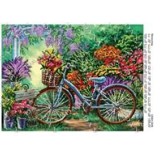 """Схема для вышивки бисером """"Велосипед"""" (Схема или набор)"""