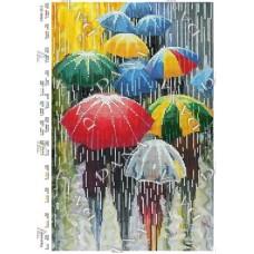 """Схема для вышивания бисером """"Зонтики"""" (Схема или набор)"""