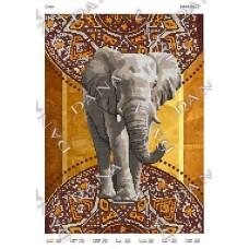 """Схема для вышивания бисером """"Слон"""" (Схема или набор)"""
