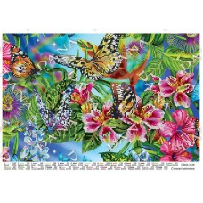 """Схема для вышивки бисером """"Пестрые бабочки"""" (Схема или набор)"""