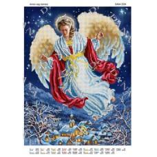 """Схема для вышивки бисером """"Ангел над землей"""" (Схема или набор)"""