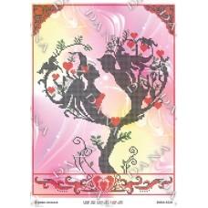 """Схема для вышивания бисером """"Дерево любви"""" (Схема или набор)"""