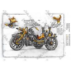 """Схема для вышивки бисером """"Мотоцикл-2"""" (Схема или набор)"""