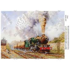 """Схема для вышивки бисером """"Поезд"""" (Схема или набор)"""