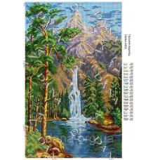 """Схема для вышивки бисером """"Горный водопад"""" (Схема или набор)"""
