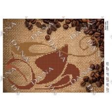 """Схема для вышивания бисером """"Зерно кофе"""" (Схема или набор)"""