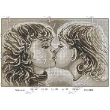 """Схема для вышивки бисером """"Поцелуйчик"""" (Схема или набор)"""
