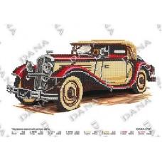 """Схема для вышивки бисером """"Красно -золотое ретро авто"""" (Схема или набор)"""