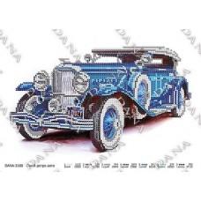 """Схема для вышивки бисером """"Синий ретро авто"""" (Схема или набор)"""