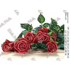 """Схема для вышивки бисером """"Бордовые розы"""" (Схема или набор)"""